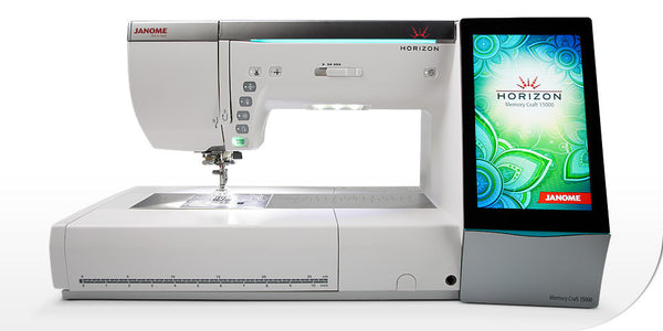 Janome Horizon Memory Craft 15000 v2 -  EX-demo model from Janome - do not miss out!