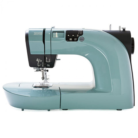 Toyota  * POWER RANGE - FESTIVAL OF QUILTS WEEK OFFER * Oekaki Renaissance in Sage Green - Sewing & Free Motion Embroidery Machine