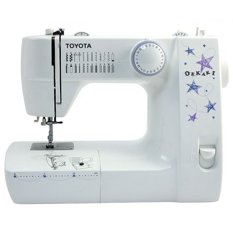 Toyota Oekaki Classic RS Sewing Machine - inc. Extension Table (Drop Feed For Free Motion Sewing)