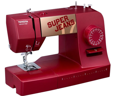 Toyota * POWER RANGE * Super Jeans 17 Red Edition - Sews Silk to Leather