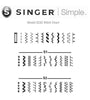 Singer 3232 * 32 stitch special buy - AUTO NEEDLE THREADER *