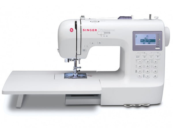 Singer 9100 Sewing Machine Professional Stylist With Extension Table - 200+ Stitch Patterns With 2 Alphabet Fonts