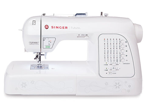 Singer Futura XL420 Sewing & Embroidery Machine with new Continuous Embroidery Hoop