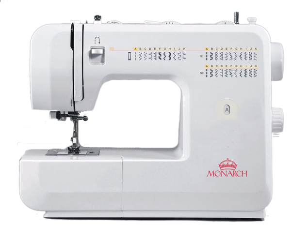 Monarch Q60 - Drop in bobbin and Auto needle threader