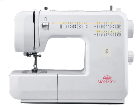 Monarch Q60 - Drop in bobbin and Auto needle threader + FREE Canvas Sewing Bag