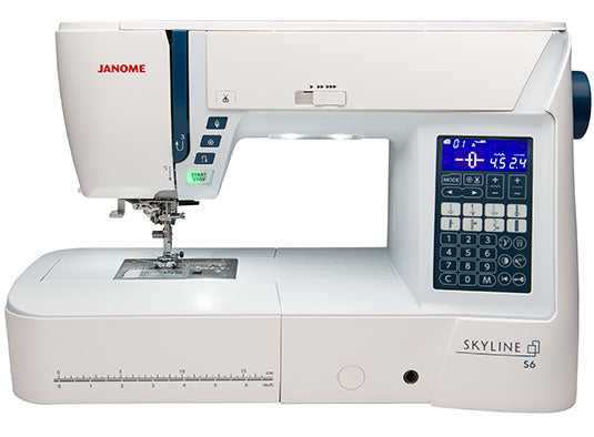 Janome Atelier 6 Sewing Machine * Ideal For Quilting + Alphabet And Number Sewing with Dual Feed *