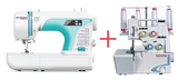 SEWING ROOM BUNDLE - Necchi MP50 Digital Sewing Machine + Toyota SL3304 Overlocker