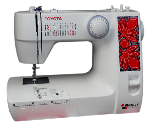 Toyota Quiltmaster 226 with FREE 7 piece quilting accessory kit worth £79