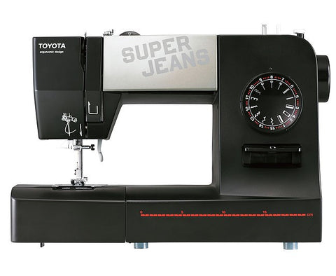 Toyota * Power Range * Super Jeans 15 Sewing Machine - Sews Silk To Leather