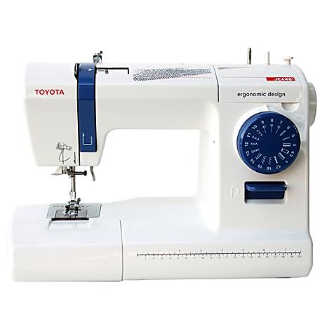 Toyota Eco 17CJ  Jeans Sewing Machine - Drop In Bobbin + Auto Needle Threader
