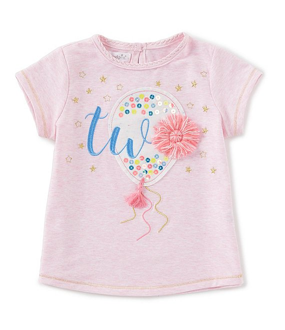 Girl Two Birthday Tee