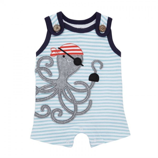 Pirate Octopus Romper