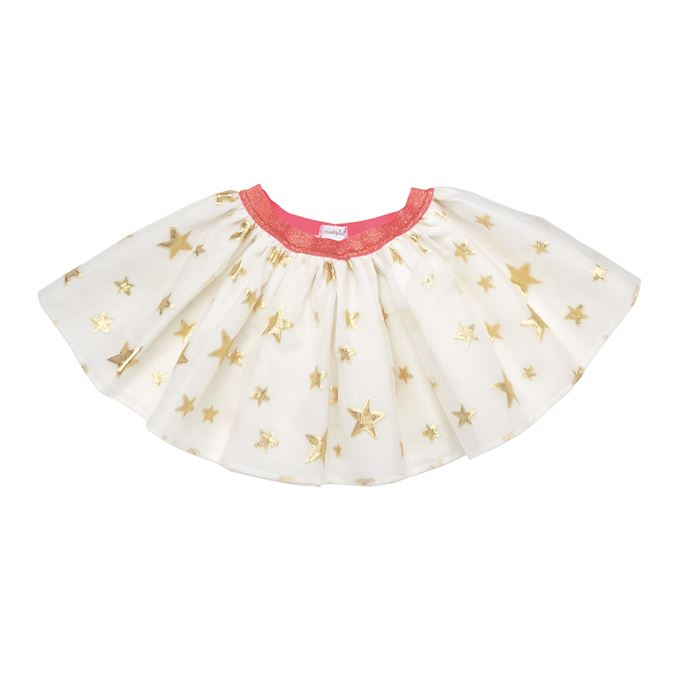 Gold Star Tutu Skirt