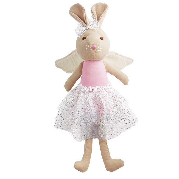 Linen Princess Bunny Doll