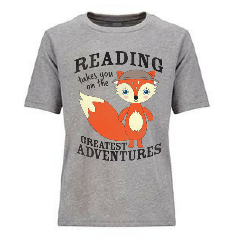 Preprinted Toddler/Unisex Jersey:Character Reading Adventure