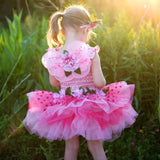 Fairy Blooms Deluxe Dress, Pink