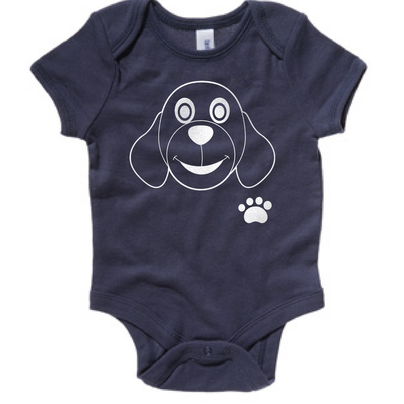 Preprinted Infant/Onesie:Doggie