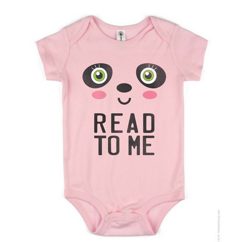 Preprinted Infant/Onesie:Panda-Read