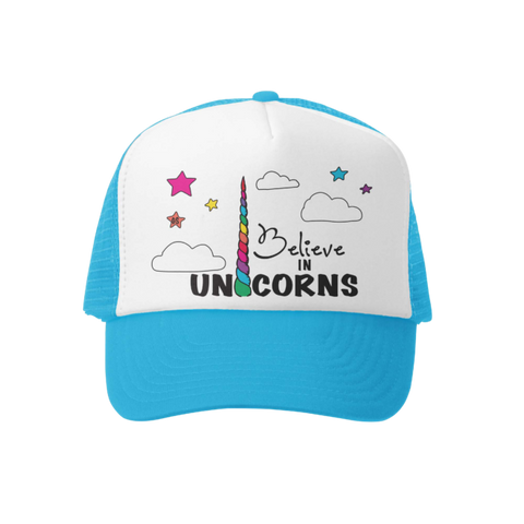 Believe in Unicorns Hat