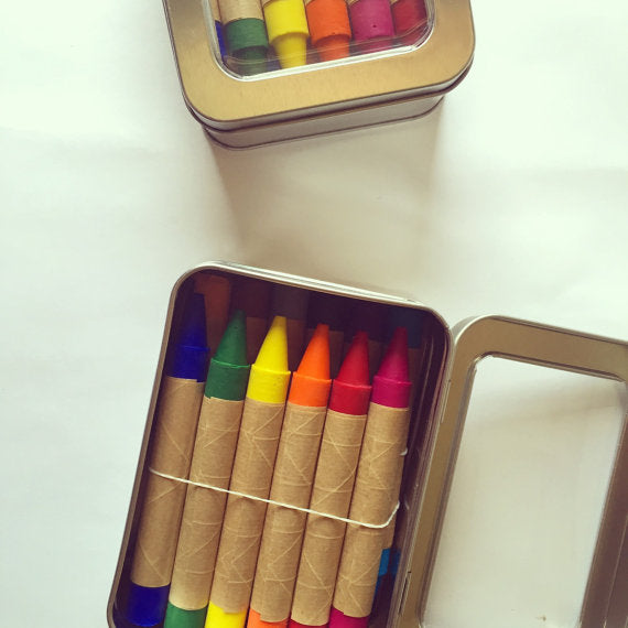 Crayons - Tin Box