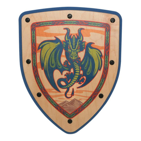 Dragon Shield- Blue Multi