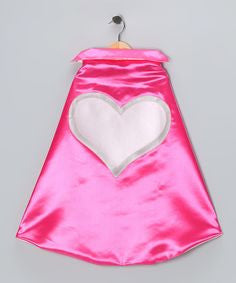 Heart Cape- Pink