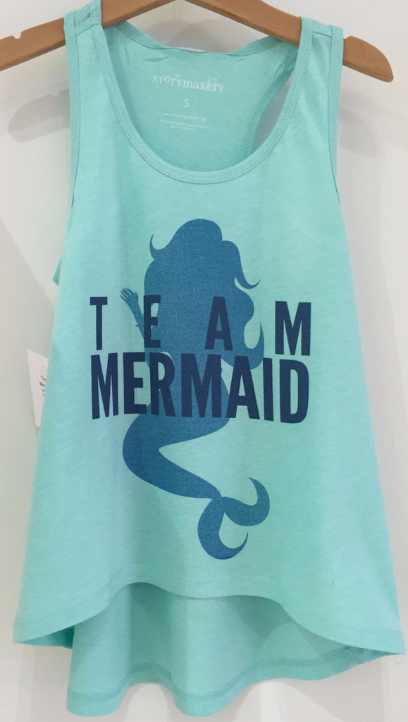 Preprinted Toddler HL RacerBack Fashion Tank- Team Mermaid