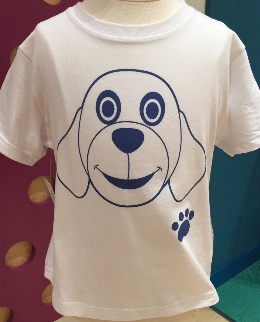 Preprinted Toddler/Unisex Jersey:Character Doggie Footprint