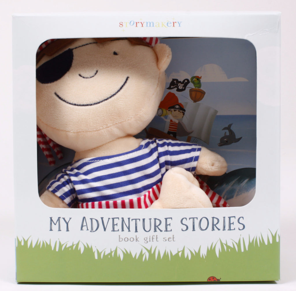 My Adventure Series Pirate Book & Toy Gift Set