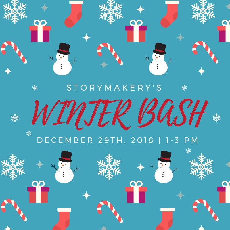 Storymakery's Winter Bash