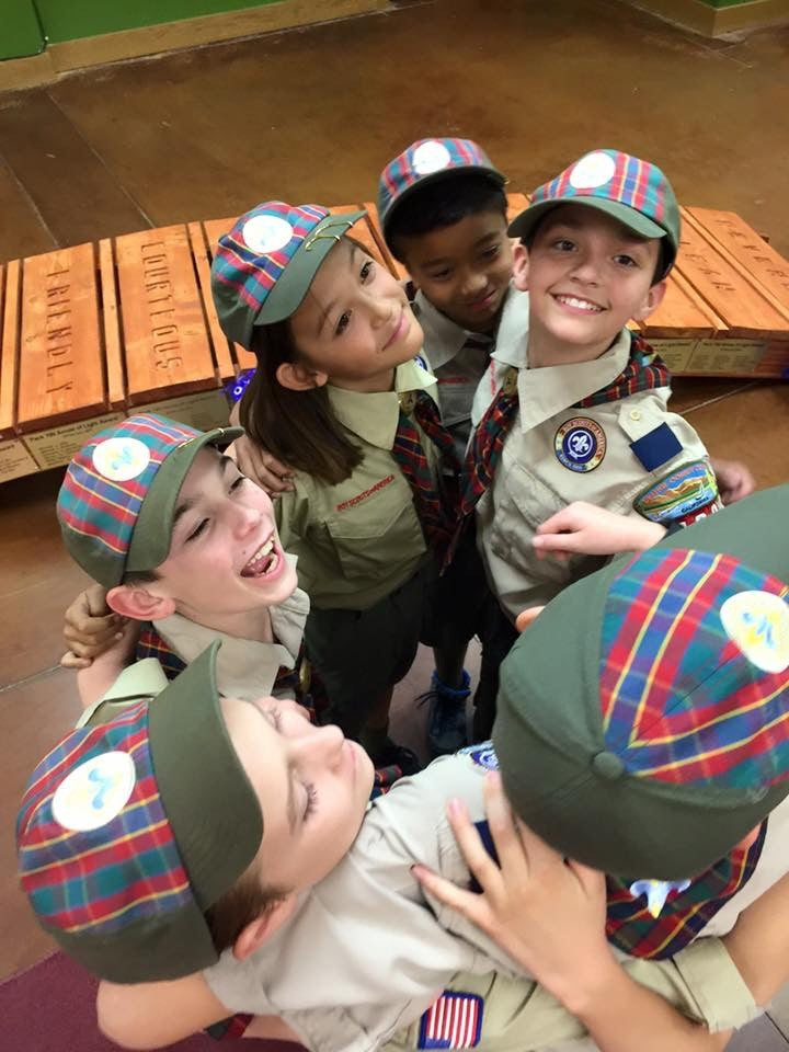 Cub Scouts Day at Storymakery