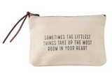 Canvas Pouch Cosmetic Bags