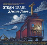 Steam Train, Dream Train - Boys Two-Piece Fitted Pajamas and Book Set