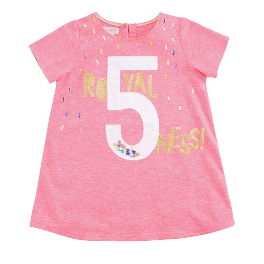 Royal Five Ness Pink Birthday Tunic