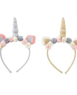 Unicorn Headband Gold/Silver