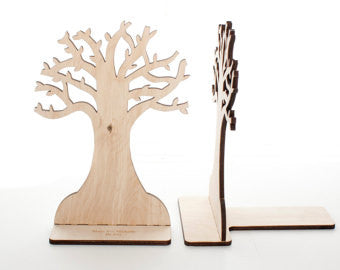 Tree Book Ends