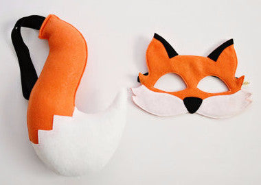 Fox Mask & Tail