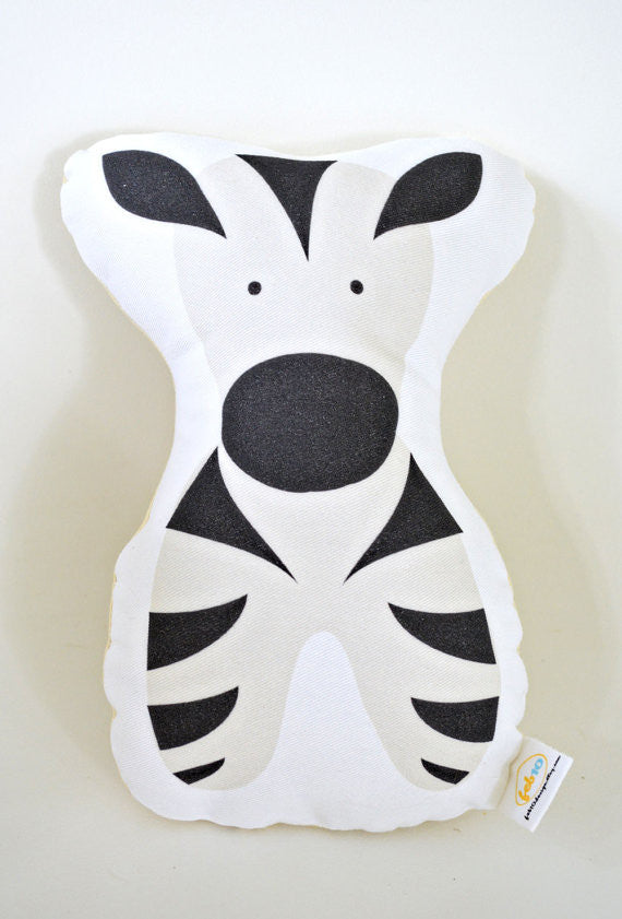 Stuffed Animal Zeus Zebra