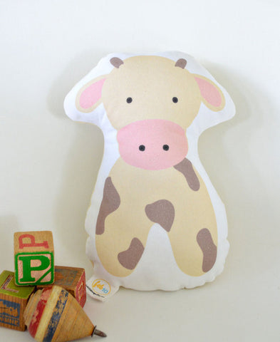 Stuffed Animal Carl Cow