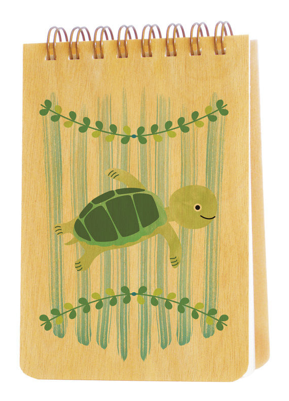 Wooden Jotter Turtle