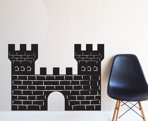 Castle Chalkboard Wall Decal