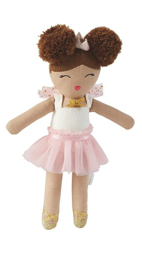 Pink Skirt Ballerina Rattle