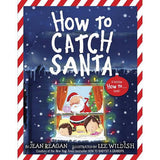 How to Catch a Santa - Girls Two-Piece Pajamas and Book Set