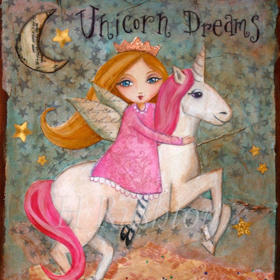Unicorn Dreams Wall Art