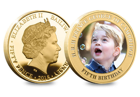 Prince George in Canada Coin