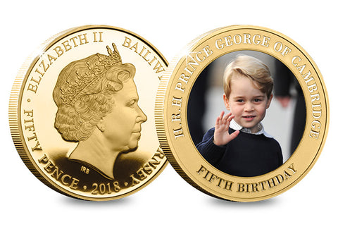 Prince George's Royal Wave coin