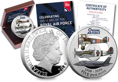Official RAF Centenary Silver Proof Coin