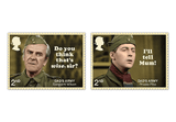 Dad's Army Ultimate Signed Framed Stamps - The Westminster Collection International