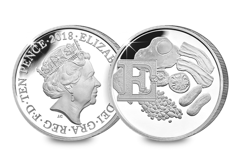 2018 UK 'E' Silver Proof 10p - The Westminster Collection International