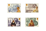 The History of Britain in Postage Stamps